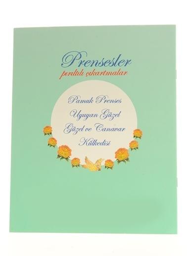 Çiçek Yayıncılık Prensesler Pırıltılı Çıkartmalar-Uyuyan Güzel Renkli